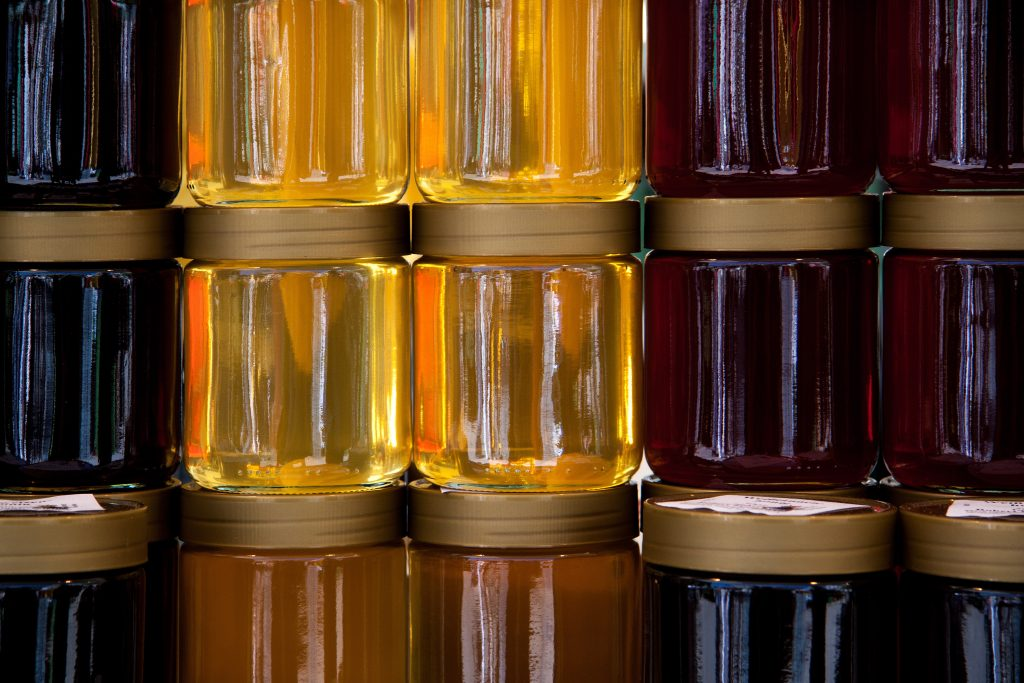 diferentes tipos de miel