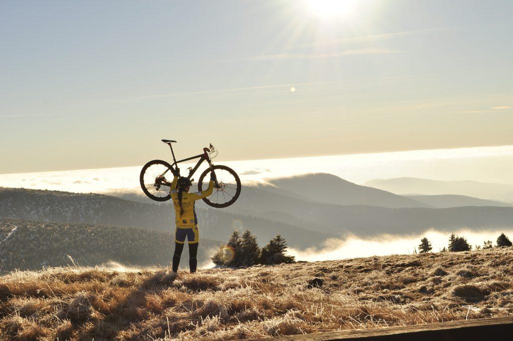 ciclismo en montaña