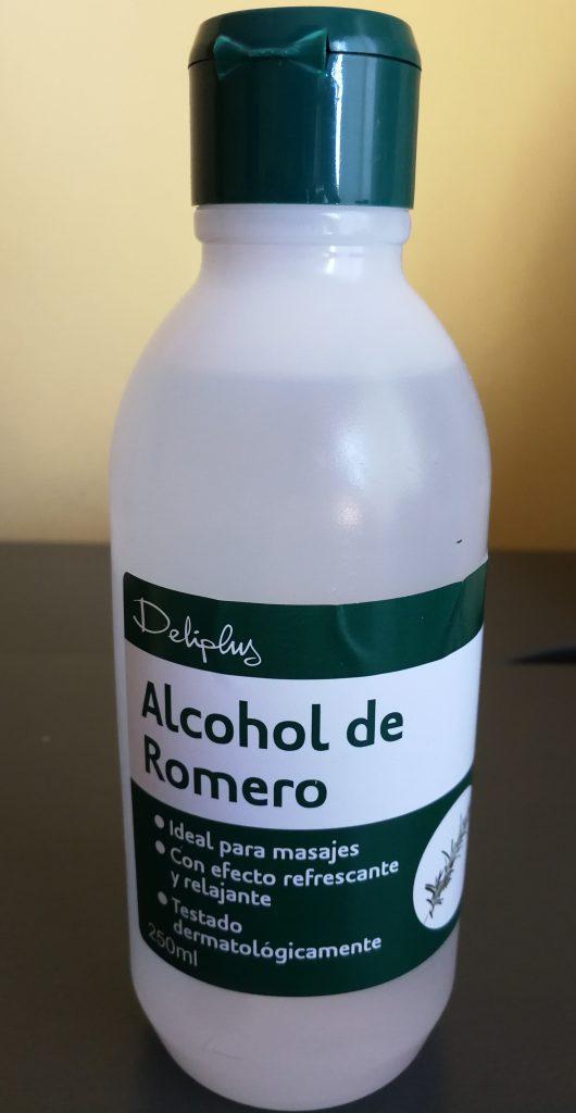 alcohol de romero mercadona