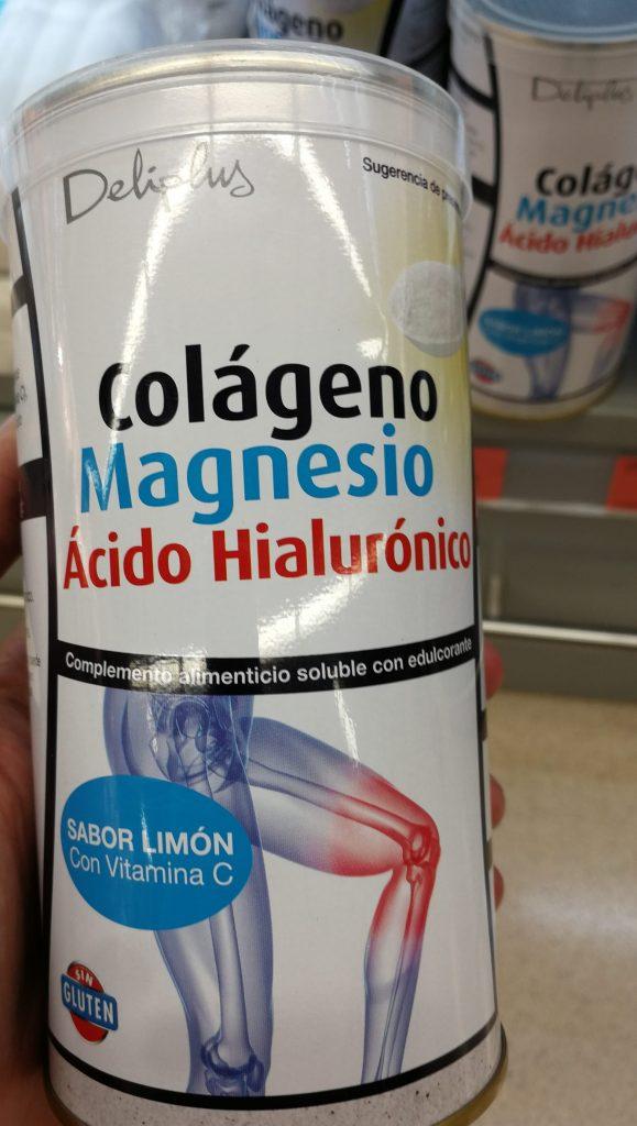 colageno con magnesio mercadona