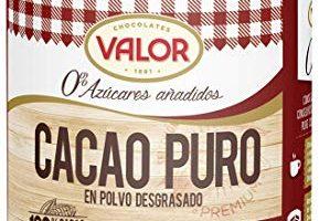 cacao 0 azucares mercadona