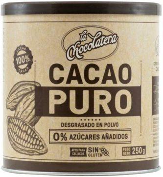 cacao puro mercadona