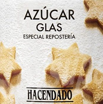 azúcar glass mercadona