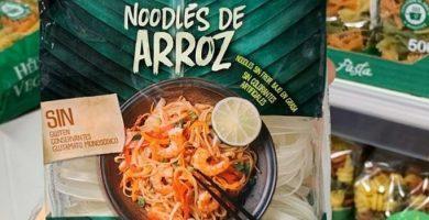 noodles de arroz mercadona